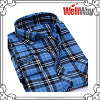 Wholesale gents design shirt button ditterent collar and cuff shirt