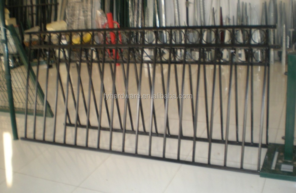 Factory directly sale steel grills fence design ( factory )