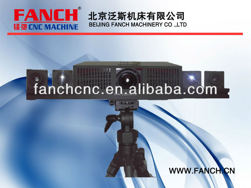 3D laser scanner /4 CAMERA /High-precision, high density, high-speed, full-color scan