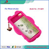 fashion cell phone case wholease with hello Kitty, silicone mobile phone cover for iphone6 case