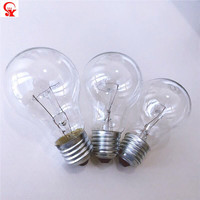 Hot selling incandescent smart light lamp china clear bulb 60 w