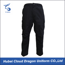 OEM 100% cotton police security guard pants men trousers