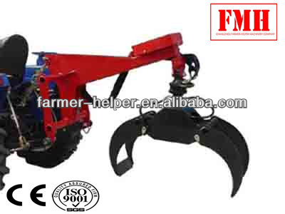 small hydraulic tractor log grapple