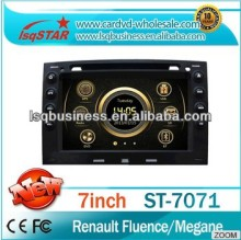 Hot Selling LSQ Star Central Multimedia For Renault Fluence/megane With Autoradio Player + Virtual 6cd+ 3g +full Function