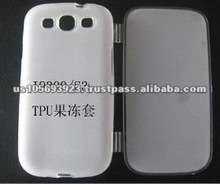Folio TPU mobile phone case for Sumsang I9300 Galaxy S 3 S3