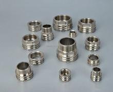 General NPT chrome or nickel plating ppr pipe fitting threaded inserts