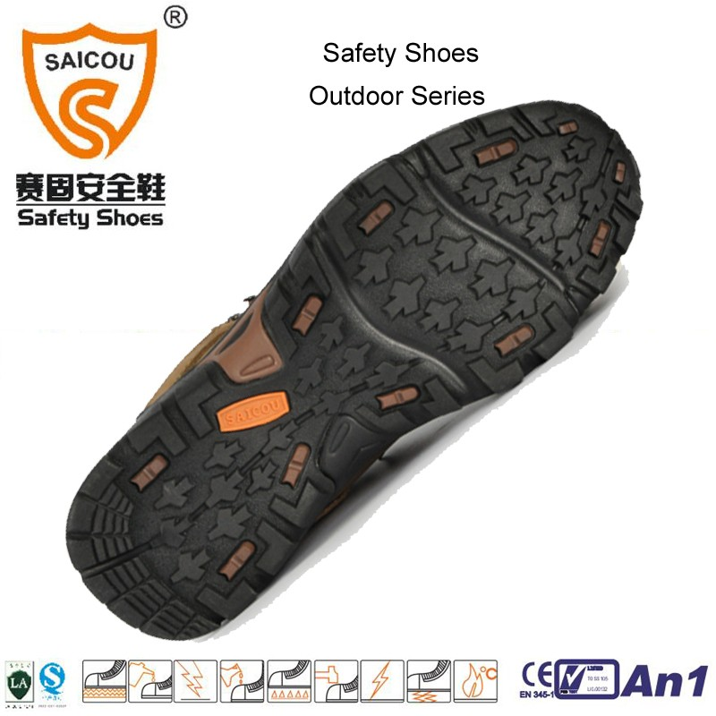 Saicou safety shoes with steel toe cap Rubber Cemented outsole 2212 outsole.jpg