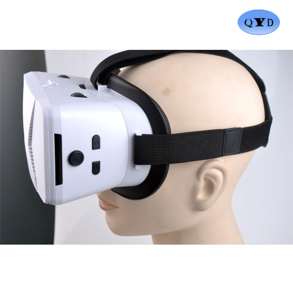 Professional cheap virtual reality video by side 3d glasses headset for wholesales