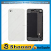 competitive price for iphone 4 back cover with bezel,for iphone 4 rear plastic cover