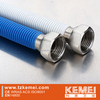 yellow flexible gas hose, stainless steel with PE