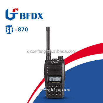 BFDX long distance walkie talkie BF-8300