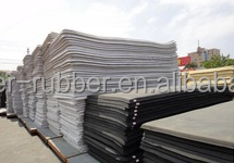 Factory price high quality customized SBR rubber sheets
