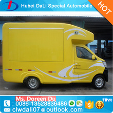 China Cheap Changan 4*2 53hp mobile food vending van truck for sale