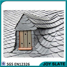 Wooden house villa building materials fish scale roof shingles / roof+slate+tile