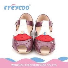 High quality lovely fancy girls baby loafer shoes