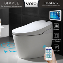White Five-range Security Massage Water spray Intelligence Toilet