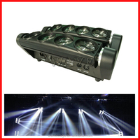WLED 1-14 New 8 pcs 4 IN 1 RGBW (WHITE) 10W LED linear dmx rgbw 4 in 1 led mini moving head manual