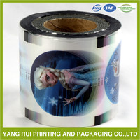 Metallized Polyester Colorful Film For Lamination plastic film roll
