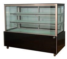 APEX supermarket/store straight refrigerated bakery display case