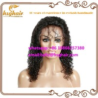 100 virgin afro kinky curly remy indian human hair full lace wigs
