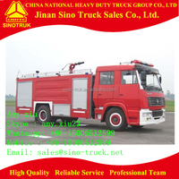 best price fire truck with water tanker water tender fire truck