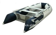 Made in China V hull aluminum inflatable boats tender boats /3.3m inflatable boats