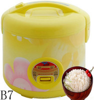 Kitchen Appliance Import Tinplate Industrial Deluxe Rice Cooker Cool Touch