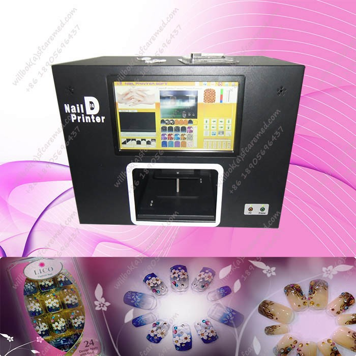 Nice Design Digital art pro nail printer with PC