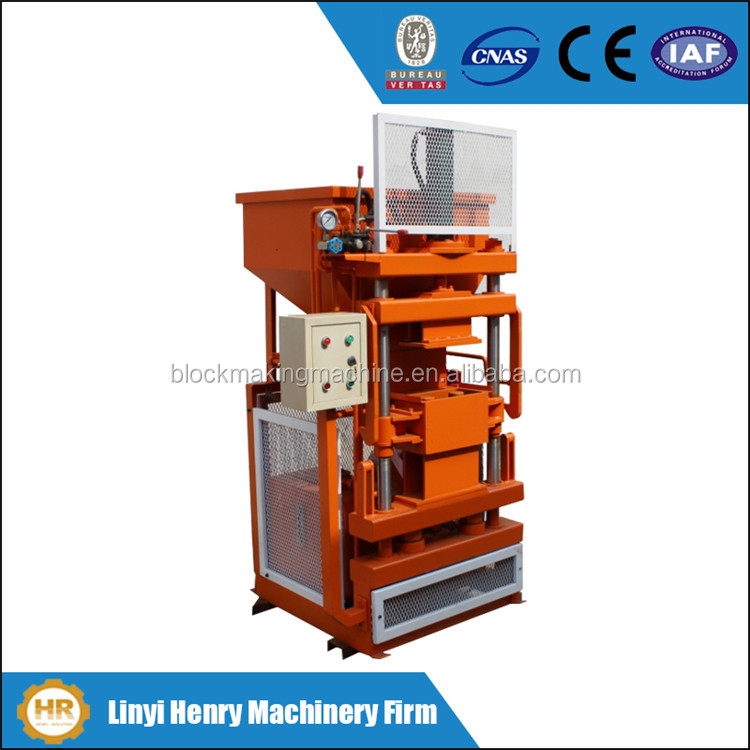High production HR1-10 automatic brick forming machine, eco maquinas brick machine, hydraulic block making machine for sale