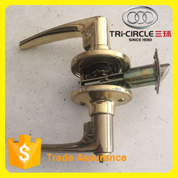 High Quality Tri-Circle Three lever Tubular leverset door lock TC15PB