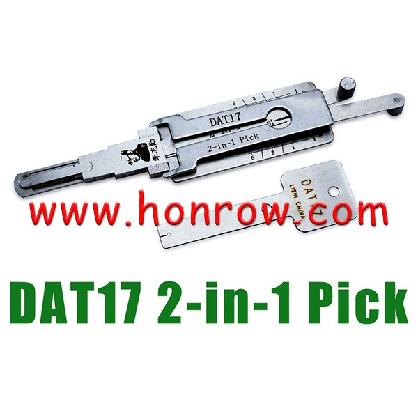 Original Lishi DAT17 lock pick tool and decoder together 2 in 1 genuine with best quality