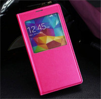 Smart Pink Leather Case for iPhone 6, iPhone 5 and iPhone 4 and for Samsung S5 and Note 3