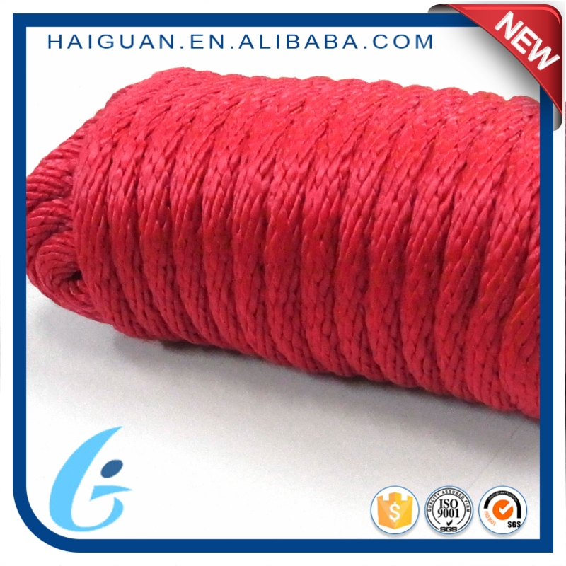 Polypropylene Braided Ship Sailing Yacht Tugboat Towing Vessel Mooring Rope On Sale
