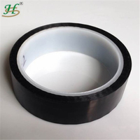 High Temperature Protective black Polyimide film tapes with silicone adhesive