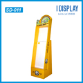 cardboard peg hook display stand hair accessories display stand