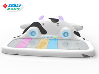 Music Cow Cow Kid's Piano Dancing Game Machine Hot Sale in Thailand
