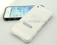 Transparent multi-color mobilephone case protective case for iPhone 5