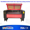 TS1490D Double Heads plywood laser die board cutting machine