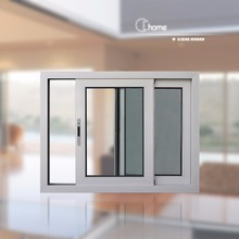 Top supplier Echome construction Australia standard aluminum framed double glazed brown color sliding window