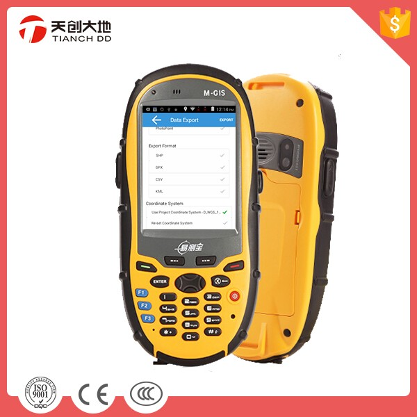 Supports Phone Call Function Handheld Rugged GPS For Agriculture