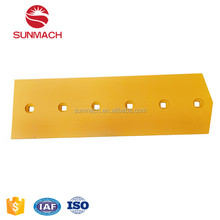 Construction Machinery Wear Parts Cutting Edge China Factory Manufacturer Excavator Blade SUNMACH 45#Heat Treatment