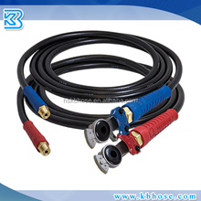 "DOT SAE J1402 ID 10mm 3/8 inch EPDM Rubber Smooth Surface Air Brake Hose Assembly With 1/2"" Hose Fittings"