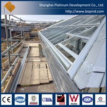 low cost light prefab steel framing homes with good quality
