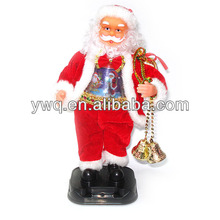 Electrical santa singing santa clause led outdoor
