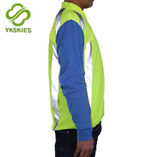 Good-material high visibility mens cycle jacket best hi viz running jacket reflective winter clothing