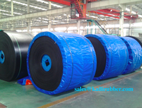 heat resistant 150 degree, 180 degree rubber conveyor belt/band