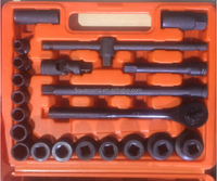 repair tools of impack socket 1/2' shot 21pc 38-42mm