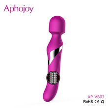 Luxurious 7 Speeds 360 Degree Stimulate Vagina Dildo Vibrator Sex Toy Full Silicone Japan Adult Wand Massager for Women