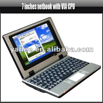 7 Inches Netbook with VIA CPU, YME710A
