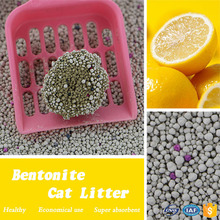 Safe and environment easy clean cat litter sand